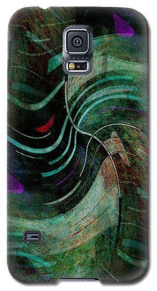 Galaxy S5 Case featuring the digital art Fallen Angle by Sheila Mcdonald