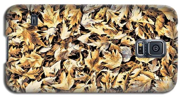Fallen Autumn Leaves Galaxy S5 Case