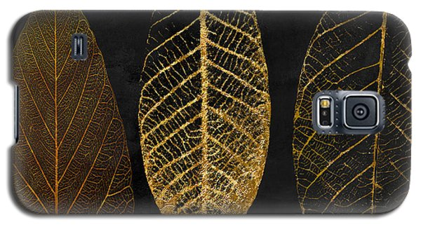 Garden Galaxy S5 Case - Fallen Gold II Autumn Leaves by Mindy Sommers