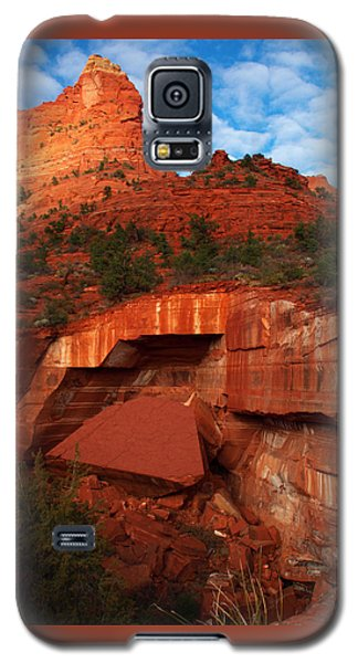 Galaxy S5 Case featuring the photograph Fallen by James Peterson