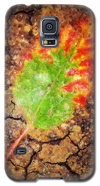 Fallen Leaf Galaxy S5 Case