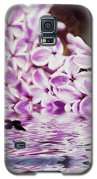 Fallen Lilacs Galaxy S5 Case by Diane Schuster