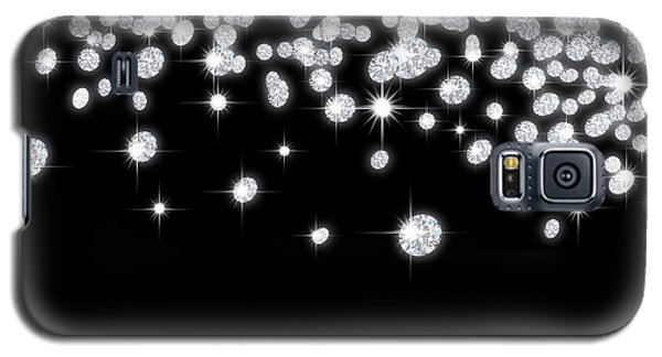 Falling Diamonds Galaxy S5 Case by Setsiri Silapasuwanchai