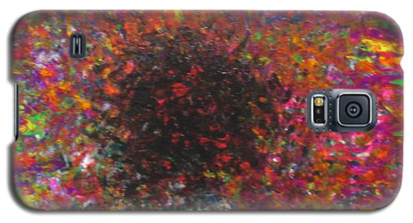 Galaxy S5 Case featuring the painting Falling by Jacqueline Athmann