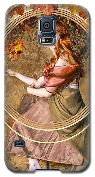Niagra Falls Galaxy S5 Case - Falling Leaves by John Edwards