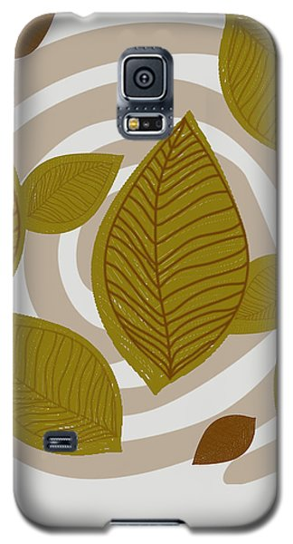 Falling Leaves Galaxy S5 Case by Kandy Hurley