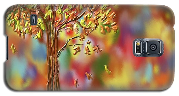 Falling Leaves Galaxy S5 Case by Kevin Caudill