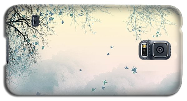 Falling Leaves Galaxy S5 Case by Trilby Cole