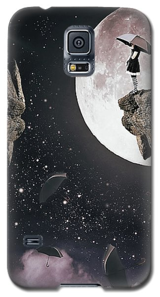 Falling Galaxy S5 Case by Mihaela Pater
