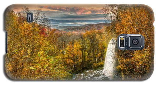 Falling Spring Falls Galaxy S5 Case