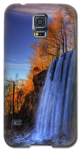 Falling Spring Falls Galaxy S5 Case by Steve Hurt