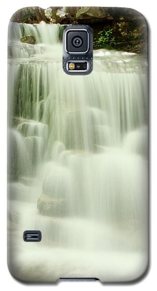 Galaxy S5 Case featuring the photograph Falling Waters by Roupen  Baker