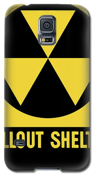 Cold Galaxy S5 Case - Fallout Shelter Sign by War Is Hell Store