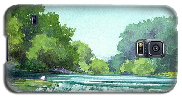 Falls At Estabrook Park Galaxy S5 Case