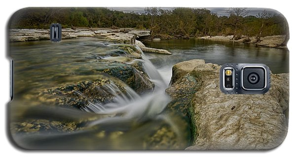 Texas Hill Country Falls Galaxy S5 Case