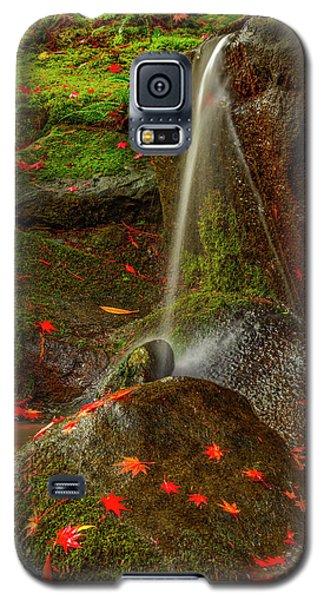 Falls In Seattle Japanese Garden Galaxy S5 Case