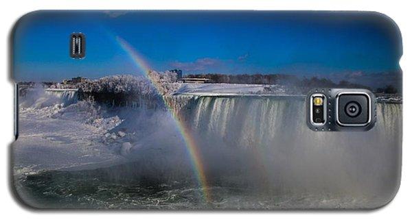 Falls Misty Rainbow  Galaxy S5 Case