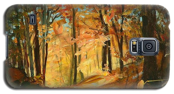 Fall's Radiance In Quebec Galaxy S5 Case