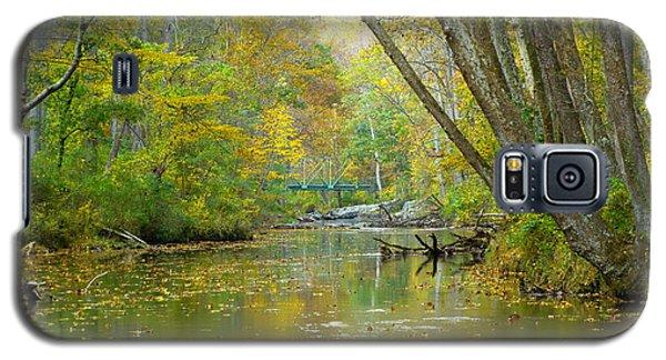 Galaxy S5 Case featuring the photograph Falls Road Bridge Over The Gunpowder Falls by Donald C Morgan