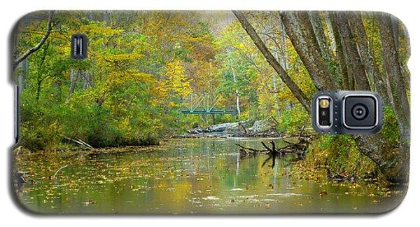 Falls Road Bridge Over The Gunpowder Falls Galaxy S5 Case by Donald C Morgan
