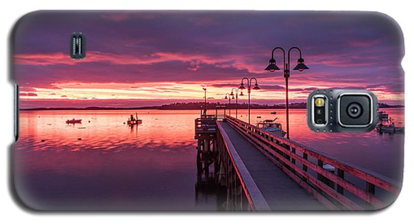Falmouth Town Landing Sunrise Galaxy S5 Case