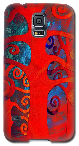 Family  Galaxy S5 Case by Angelina Vick