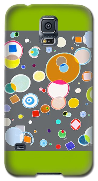 Galaxy S5 Case featuring the painting Family by Beth Saffer