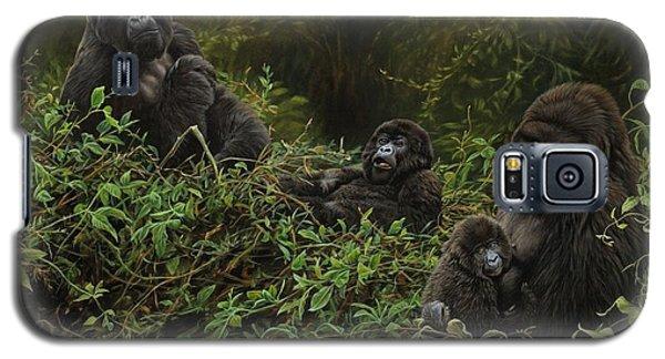 Family Of Gorillas Galaxy S5 Case
