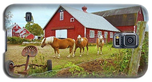 Family On The Farm Galaxy S5 Case