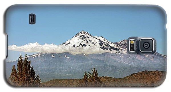 Family Portrait - Mount Shasta And Shastina Northern California Galaxy S5 Case