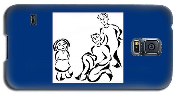 Family Time Galaxy S5 Case by Delin Colon