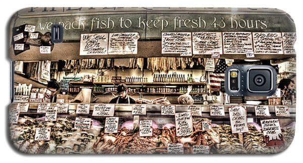 Famous Fish At Pike Place Market Galaxy S5 Case by Spencer McDonald