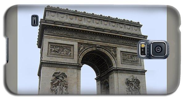Galaxy S5 Case featuring the photograph Famous Gate Of Paris - Arc De France by Suhas Tavkar