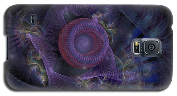 Fan Dancer - Fractal Art Galaxy S5 Case by NirvanaBlues