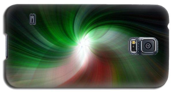 Fan Twirl Galaxy S5 Case by Cherie Duran
