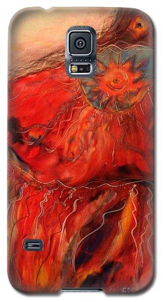 Fancy Shawl Dancer Galaxy S5 Case by FeatherStone Studio Julie A Miller