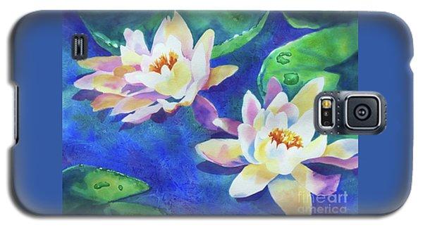 Fancy Waterlilies Galaxy S5 Case