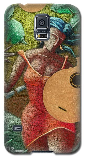 Fantasia Boricua Galaxy S5 Case