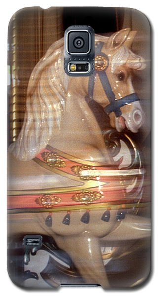 fantasy animals from the carousel - Proud Palomino Galaxy S5 Case