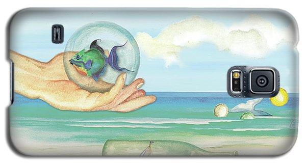 Fantasy At The Beach Galaxy S5 Case