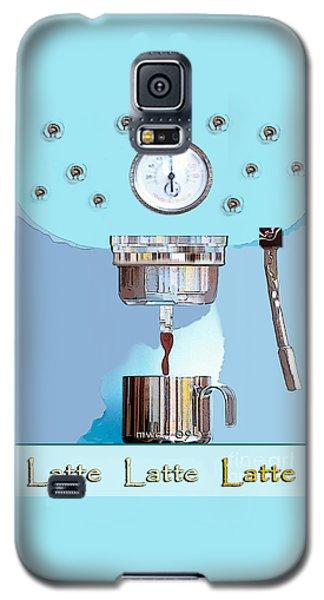 Fantasy Espresso Machine Galaxy S5 Case