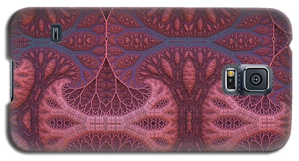 Galaxy S5 Case featuring the digital art Fantasy Forest by Lyle Hatch