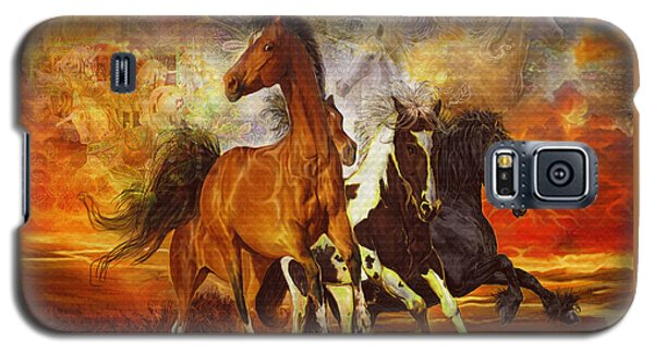 Fantasy Horse Visions Galaxy S5 Case by Steve Roberts