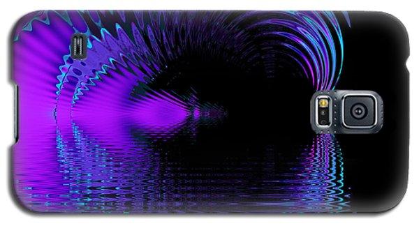 Fantasy Lake Fractal Galaxy S5 Case