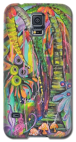 Fantasy Rainforest Galaxy S5 Case by Lyn Olsen