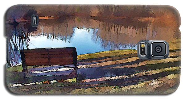 Galaxy S5 Case featuring the photograph Farewell Fishing by Betsy Zimmerli