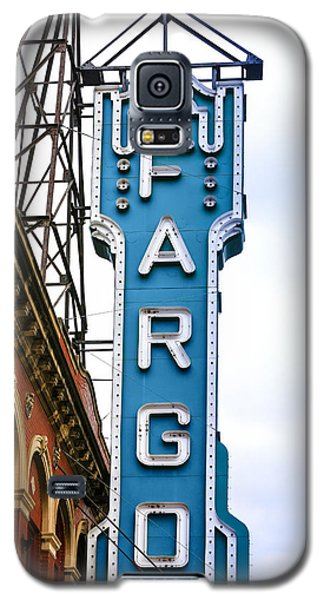Fargo Blue Theater Sign Galaxy S5 Case