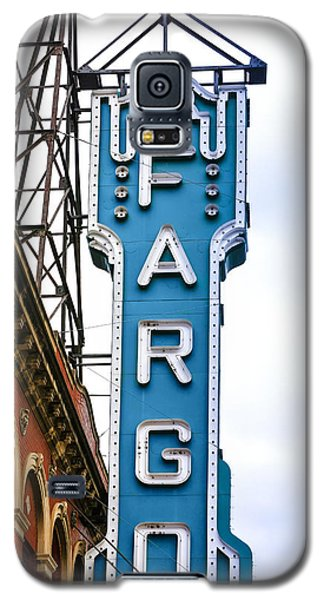 Fargo Blue Theater Sign Galaxy S5 Case