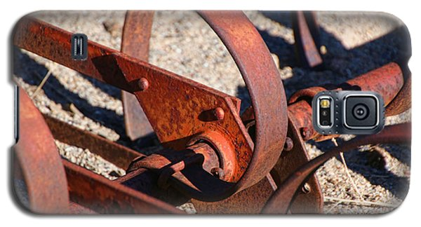 Galaxy S5 Case featuring the photograph Farm Equipment 4 by Ely Arsha