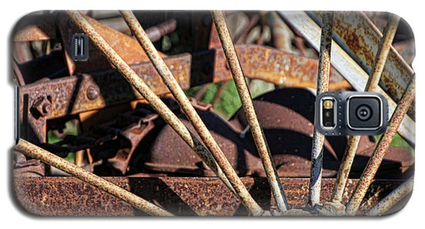 Galaxy S5 Case featuring the photograph Farm Equipment 5 by Ely Arsha